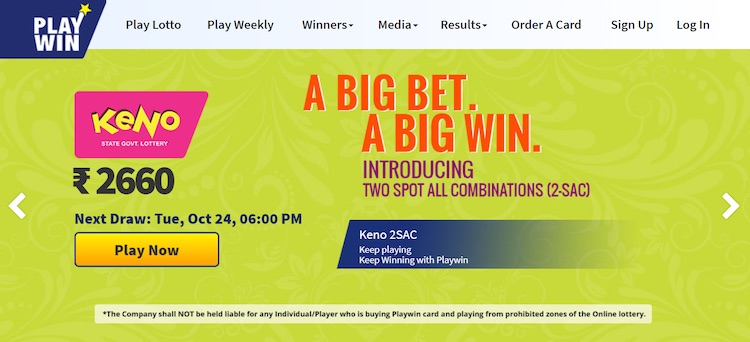 Playwin Lottery The No 1 Online Lottery Guide In India